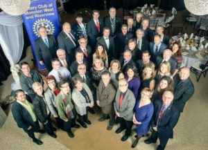 Network at Rotary Club of Moncton West & Riverview Charter Night 2015. Photo by Nigel Fearon Photography